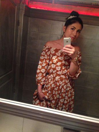 Платье миди Zara , Mango