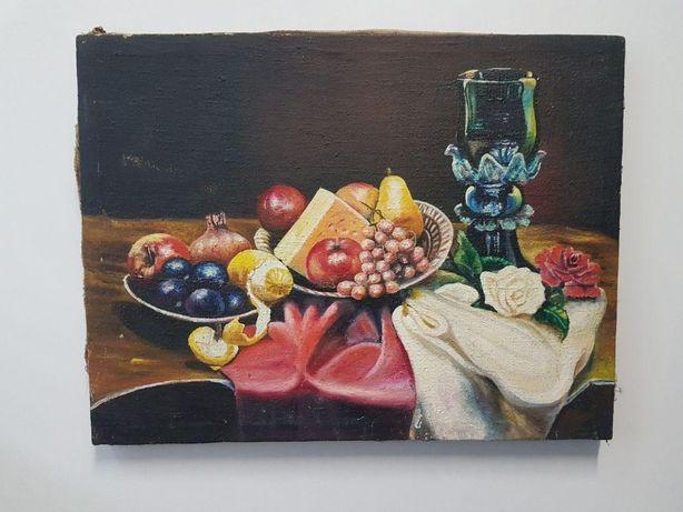 Картина Натюрморт 70см. х 45см. Масло. 1928 рік.