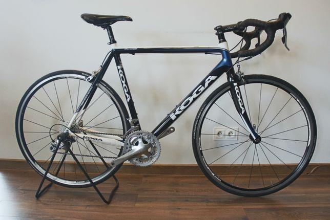 Rower Szosowy Koga Flyer Tiagra r.58 Alu, Widelec Carbon, nowy łańcuch