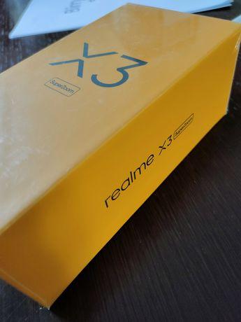 Nowy Realme x3 SuperZoom 12/256 Arctic white, zafoliowane pudełko