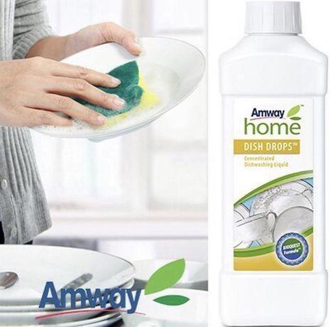 DISH DROPS концентрированная жидкость для мытья посуды  Amway