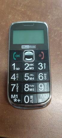 Telefon Max Com dla Seniora + Baza