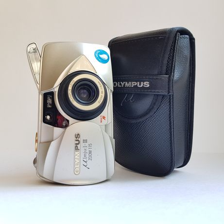 Olympus mju ii zoom 115 dlx пленочный фотоаппарат 35 mm купить