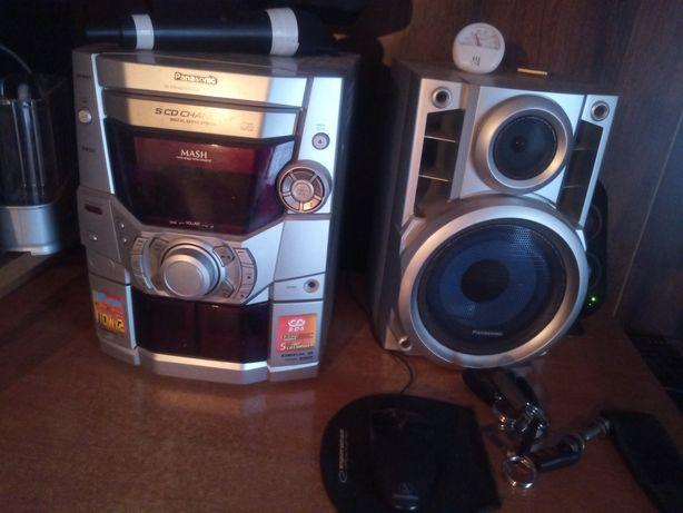 Panasonic sa-ak 210 magnetofon/cd/220w/aux