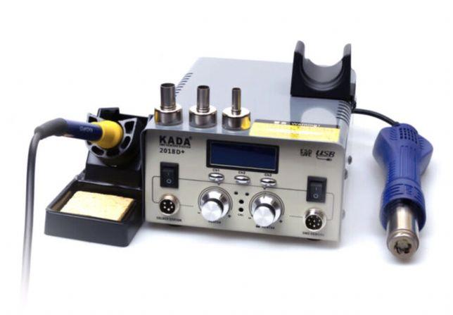 Турбинная паяльная станция Kada 2018D+ 680Вт USB 5V Оригинал! Гарантия