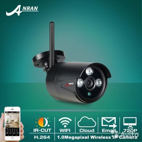 Уличная камера ANRAN 720 1080Р. Беспроводная ip камера для наблюления.
