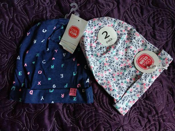 Nowe! Czapeczki / czapki dla dziewczynki Cool Club