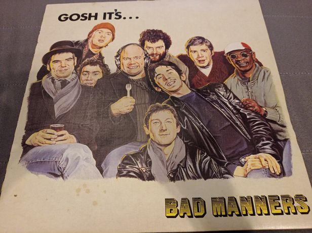 BAD MANNERS gosh it's... LP