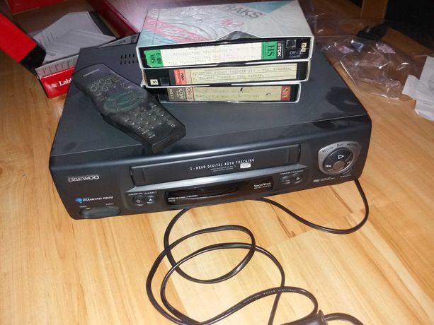 Odtwarzacz na kasety VHS Daewoo