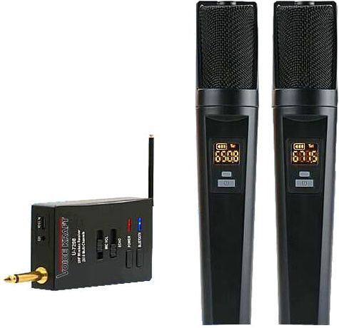 Voice Kraft Mikrofon VK V-7298 bezprzewodowy z Blutooth