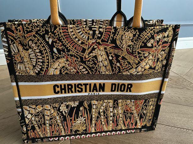 Torba Christina Dior Book Tote Animals Żyrafa 41 cm Wysyłka 24h TOP