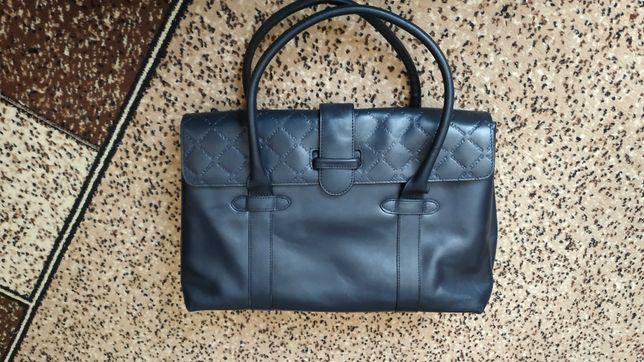 Женская кожаная сумка Gant