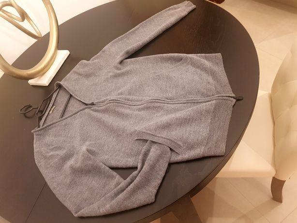 Bottega Veneta oryginalny sweter bomber S M