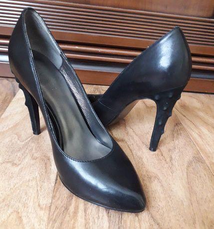 Туфли  женские кожаные GLOSSI 35р.
