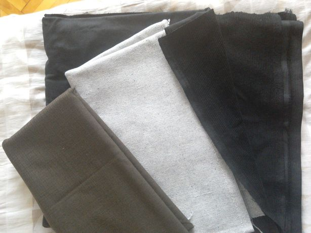 Отрез ткани времён СССР, костюмка, шерсть, вельвет