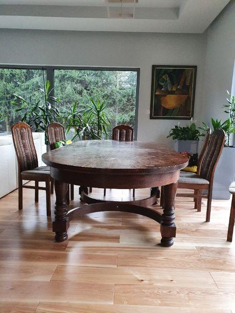 Stół solidny dębowy