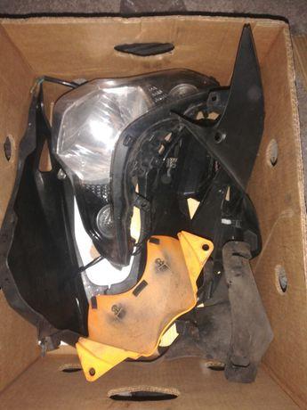 Romet Rs Junak 903 część Pług licznik  125 Wypełnia lampa Tył Zipp Pro