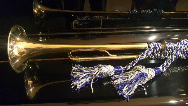 Trompete Natural de Fanfarra em Mi Bemol