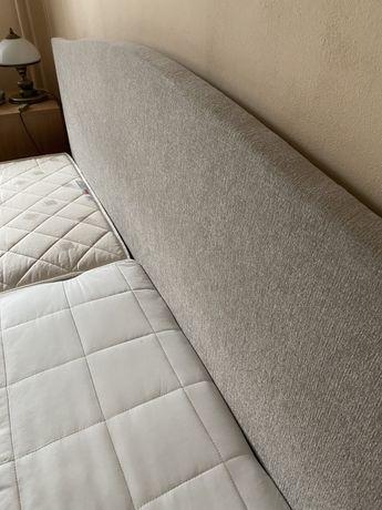 Łóżko tapicerowane. Idealny stan