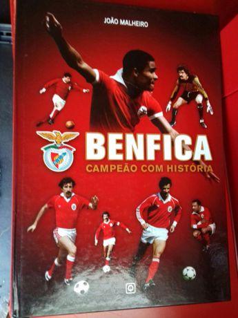 Benfica campeão com história