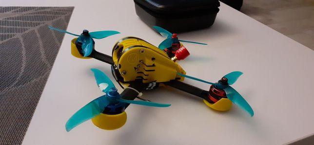 Dron wyścigowy, FPV, frsky, + gogle ev800d