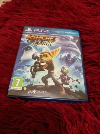Ratchet and Clank диск для ps4