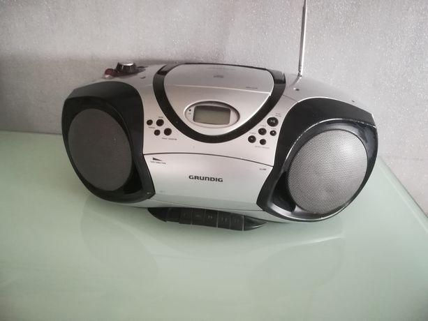 Radiomagnetofon + odtwarzacz CD GRUNDIG
