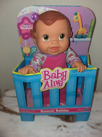 Интерактивная кукла пупс Baby Alive от Hasbro