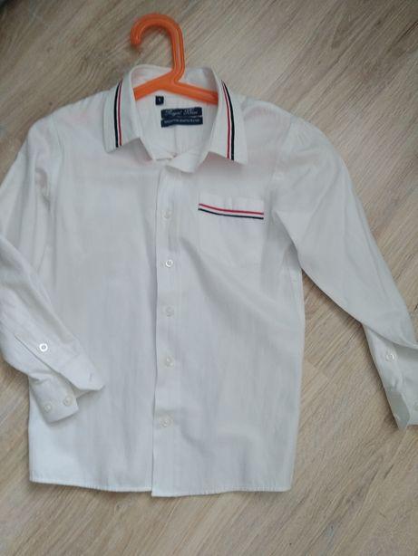 Biała koszula galowa r.116