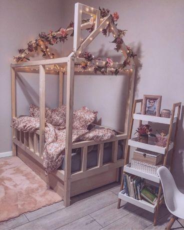 Łóżko domek 100% drewno z szufladami, wszystkie wymiary KURIER GRATIS