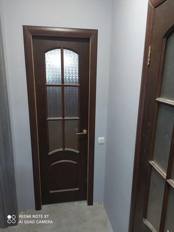 Двери деревянные ванная, туалет