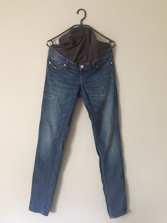 Spodnie jeansy ciążowe H&M MAMA 40 L