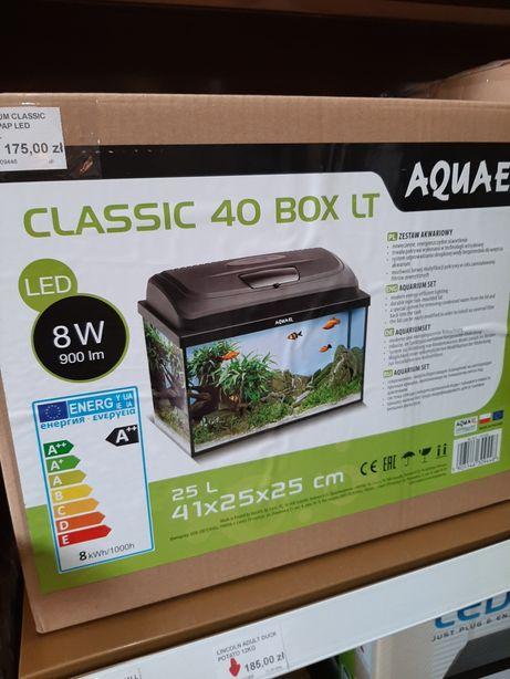 Akwaria zestawy AQUAEL 40, 60, 80 LED. Sklep ZOOlogiczny PLUTO Radom.