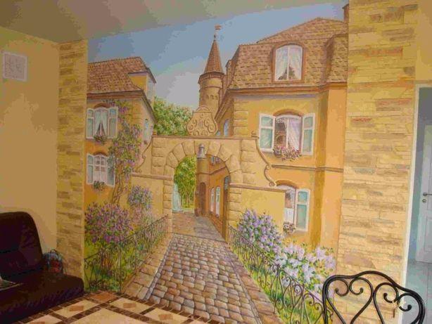 Роспись стен, живопись под заказ