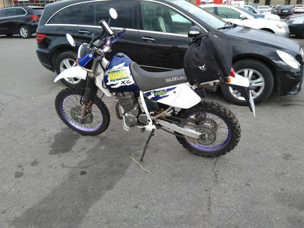 Suzuki Djebel 250 XC 1998, мотоцикл эндуро