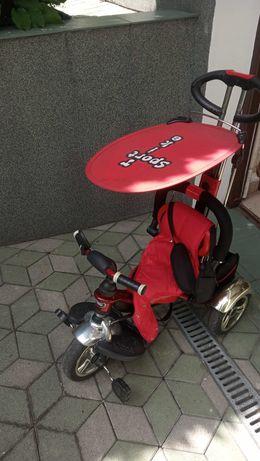 Rowerek trójkołowy huśtawka gratis