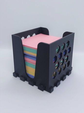 Подставка-пазл для бумаг для заметок (№1)