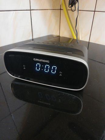 Radio Budzik Grundig 2 Alarmy