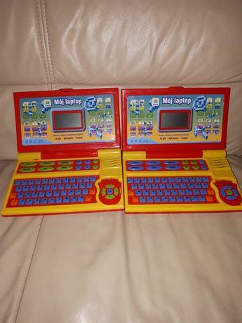 Laptopy zabawowe uszkodzone.
