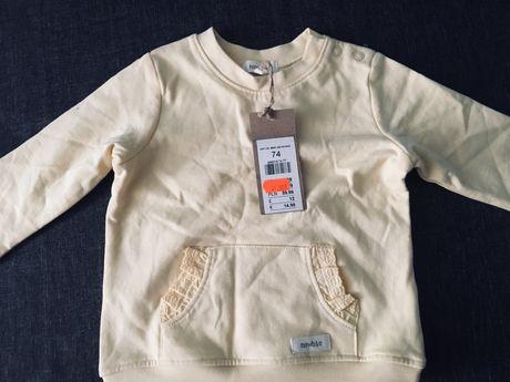 Newbie bluza 74  80 nowa z metką - wymiana