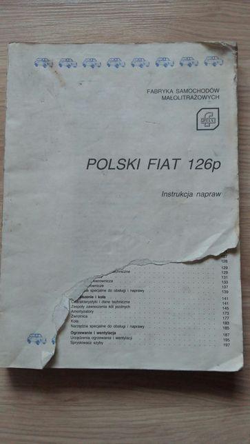 Książka Polski Fiat 126P Instrukcja napraw