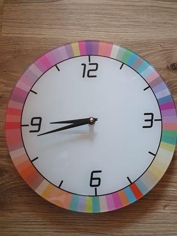 Zegar kolorowy ścienny