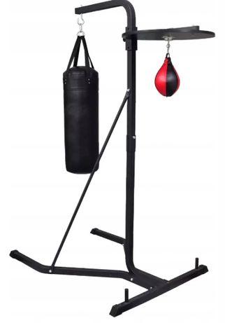 Dwustronny stojak bokserski z workiem (używany)