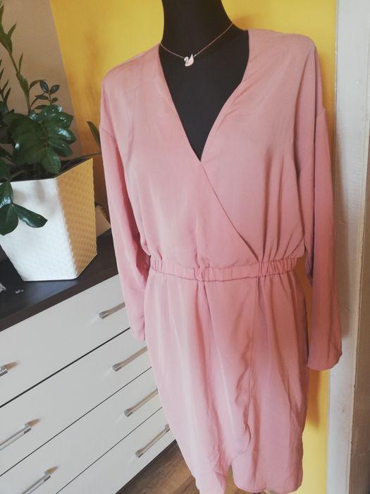 Sukienka midi kopertowa YAS XL 42 Brwice - image 1