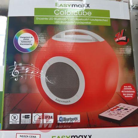 Głośnik Bluetooth bezprzewodowy USB BT LED kolory Easymaxx