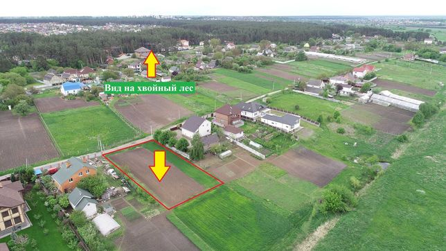 Продаж ділянки 15 соток село Шевченкове в районі Білогородки