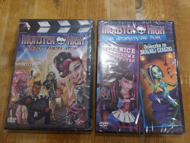 Monster High film DVD