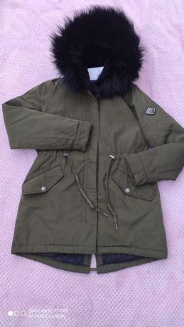 Парка куртка хаки женская