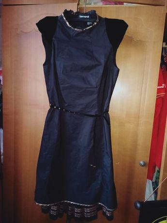 Платье фирмы BGN на подкладке, велюровое