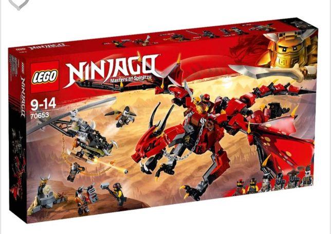 конструктор LEGO NINJAGO Первый страж (70653)